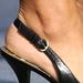 nine west slingback heels (F)