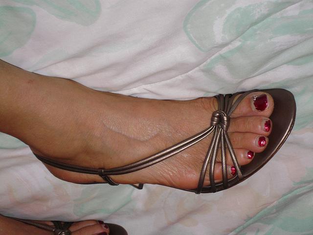 sz 7 ann taylor sandals (F)
