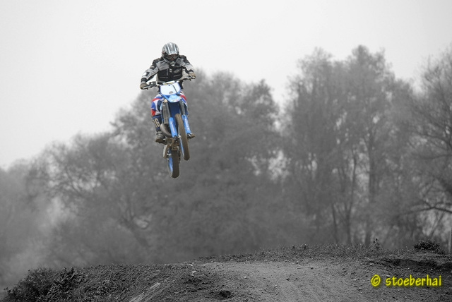 Moto cross at Albertshofen racetrack