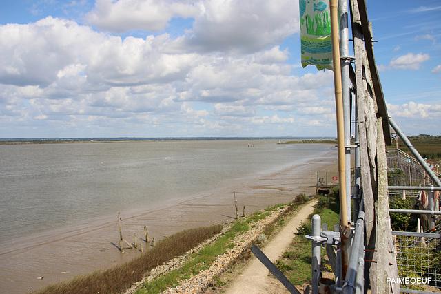 vue sur la Loire estuaire Paimboeuf