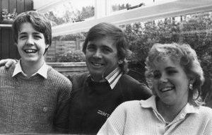 Martin and children around 1986