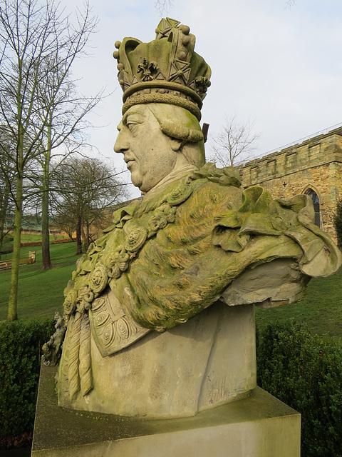 coade stone george III, lincoln castle