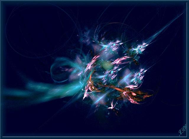 Des étoiles brillent d'un feu pur et subtil
