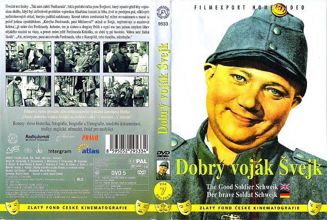 Haŝek, Jaroslav: Dobry vojak Ŝvejk (DVD)