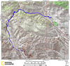 Mission Springs To Whitewater map