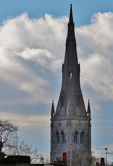 newark church, notts.