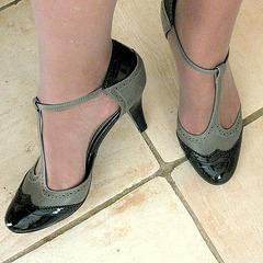 DD pot de colle en talons hauts / DD in high heels