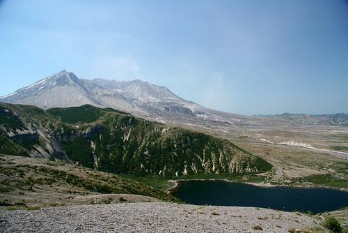 Mount St. Helens and Spirit Lake from Windy Ridge