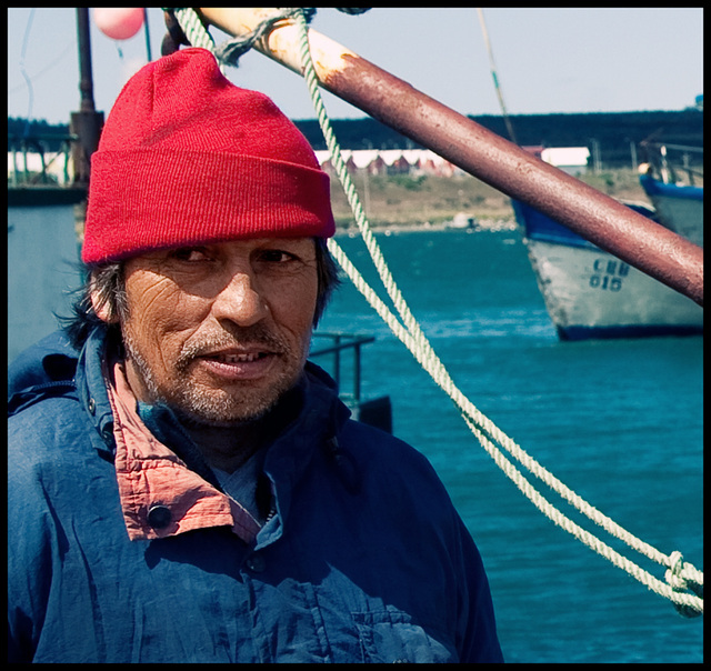 Chilean fisherman