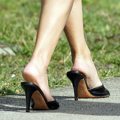 walking heels