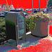 US relay mail /  Portland's marina - Maine USA -  11 octobre 2009 - Ciel rouge postérisé