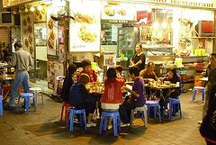 Nočný trh na Kowloone