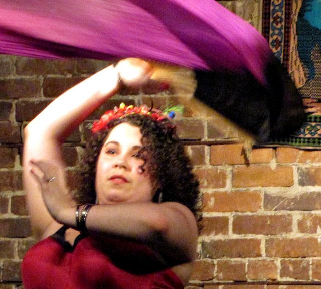 Aylah -- and her veil of silk