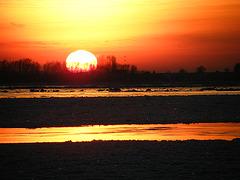 Sunset @ Elbe, Blankenese, Hamburg