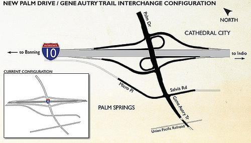 Palm Drive & Gene Autry