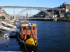 Bridges and a boat