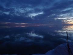 Coucher soleil au belvédère / Viewpoint sunset