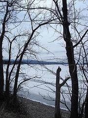 Lac Brome /  Brome lake -  Québec, CANADA /  28 mars 2010