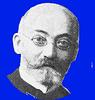 Zamenhof sur blua fono