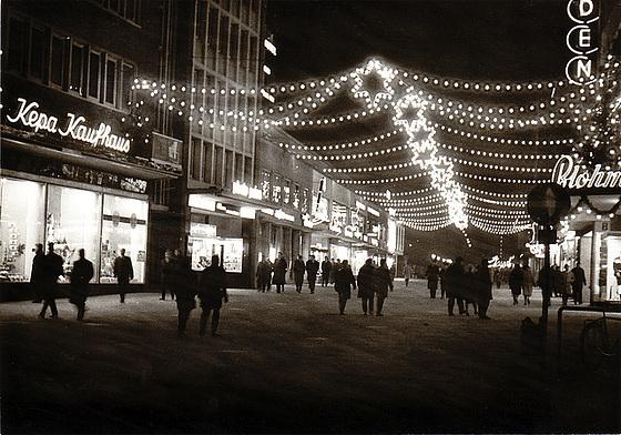 Kiel Holstenstraße,  late 1950s or early 1960s