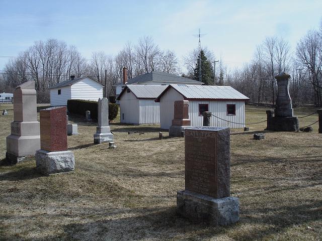 St.Mungos united cushing 1836 - Chatham ( Cushing).  Québec, CANADA.   19-03-2010