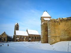 Château et église de Blandy