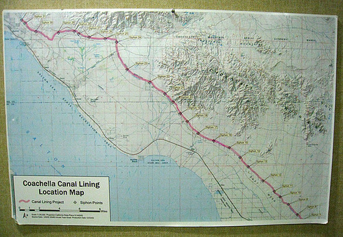 Coachella Canal Siphon Map (5608)