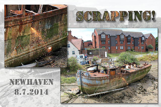 Scrapping - Newhaven - 8.7.2014