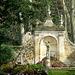 statue au fond du jardin à la française