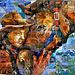 Mosaïque murale qui réserve une surprise