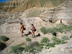 Hiking Mecca Hills (5589)