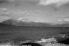 View From Beach, Rio, Peloponnese, Greece, 2010