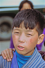 Bhutanese young man