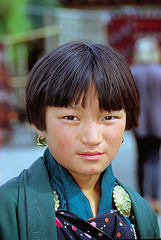 Bhutanese young lady