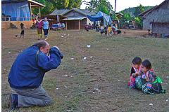 Wolfgang captures Hmong kids