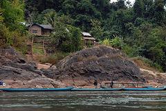 Small hamlet at Nam Ou riverside