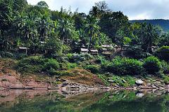 Nam Ou jungle village
