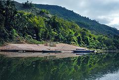 Nam Ou riverbank