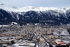 Innsbruck/ View from Bergisel