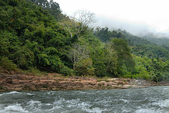 The river cruise on the Nam Ou