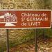 Chàteau de St Germain de Livet
