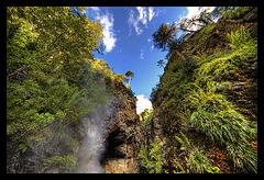 Tolhuaca canyon