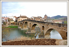 PUENTE LA REINA - Navarra.