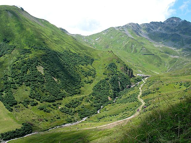 Bergbach in Serfaus - obere Teil