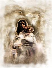 sainte et enfant