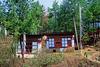 Simple farm house along the trekking way