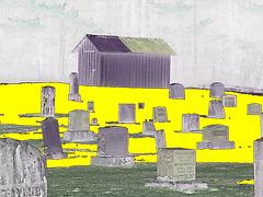 Union cemetery / Négatif RVB
