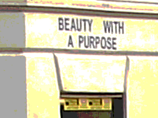 Beauty with a purpose /  Beauté avec un but - Copenhague / Copenhagen.  20-10-2008 - Postérisation