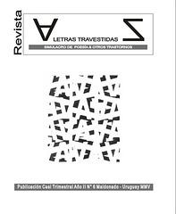 Tapa Revista Letra Travestidas nº6