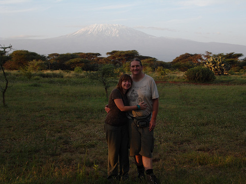 With Kilimanjaro